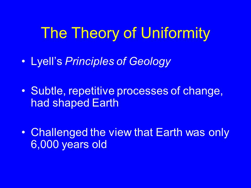 The Theory of Uniformity