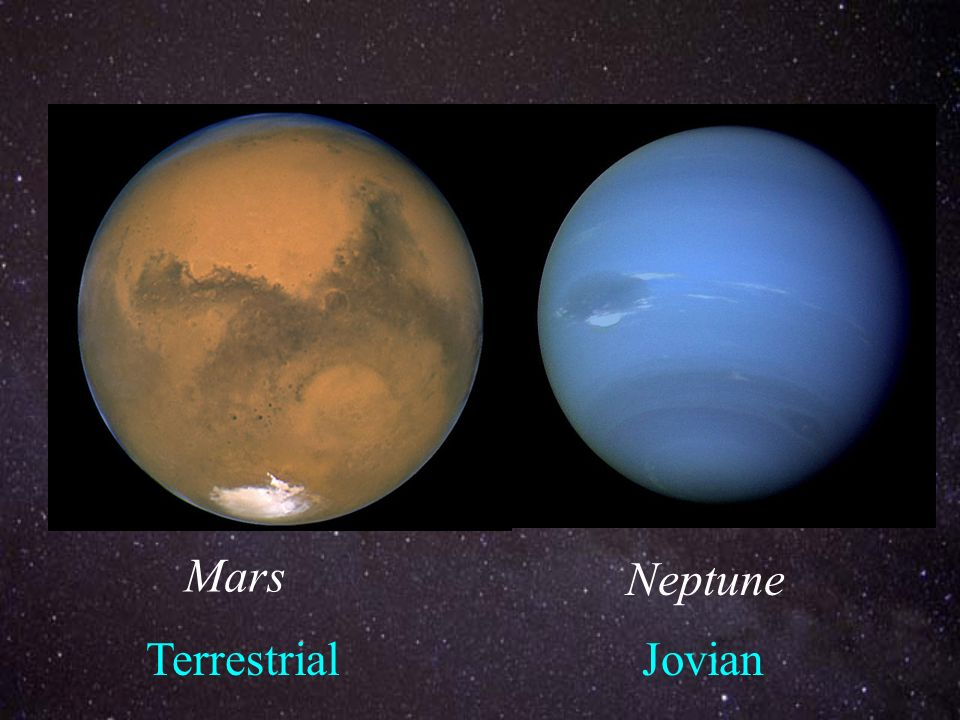 planets jovian and terrestrial planets - photo #48