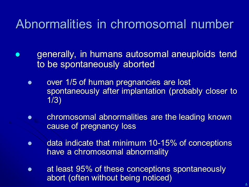 Ch. 15: Chromosomal Abnormalities - ppt download