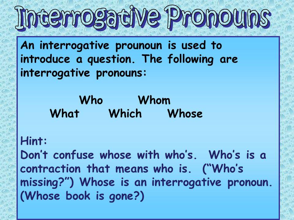Pronouns. - ppt video online download