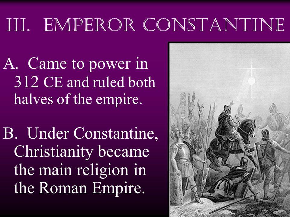 III. Emperor Constantine