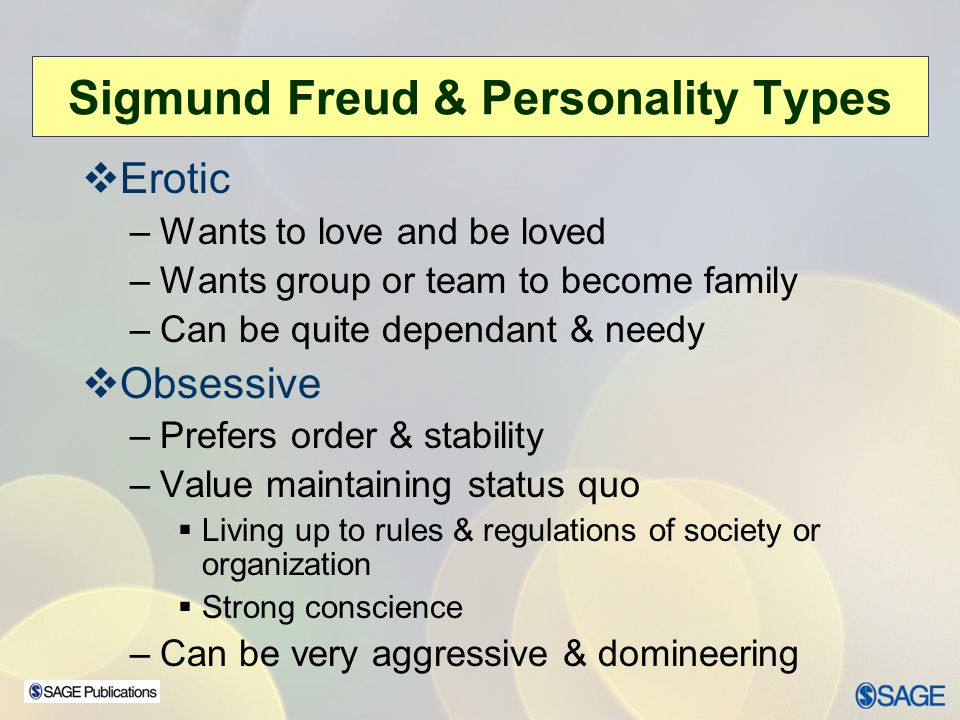 Freuds Theories on Personality