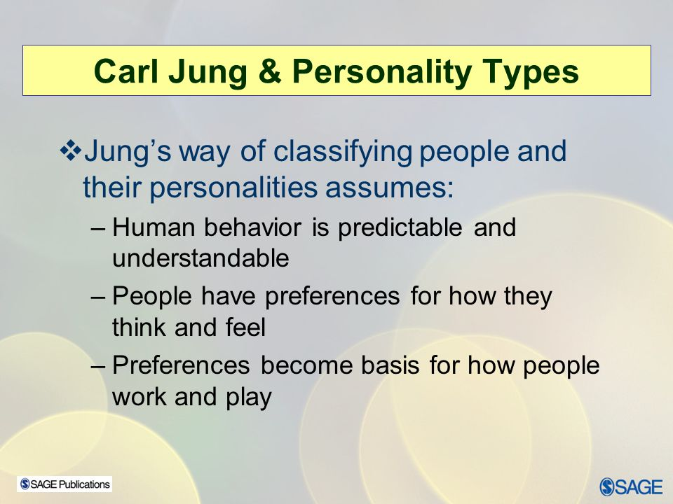 carl jungs theory personality types and how they help therapists essay
