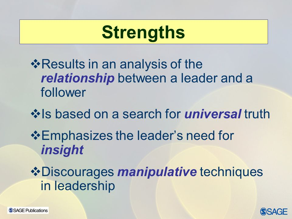 leader follower relationship definition of