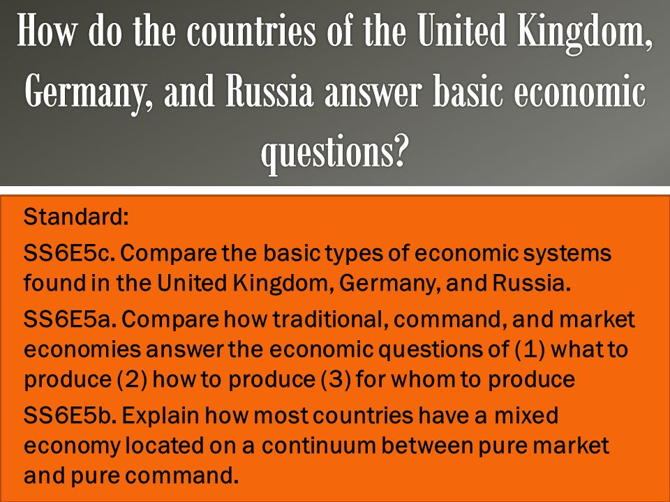 united kingdom mixed economy