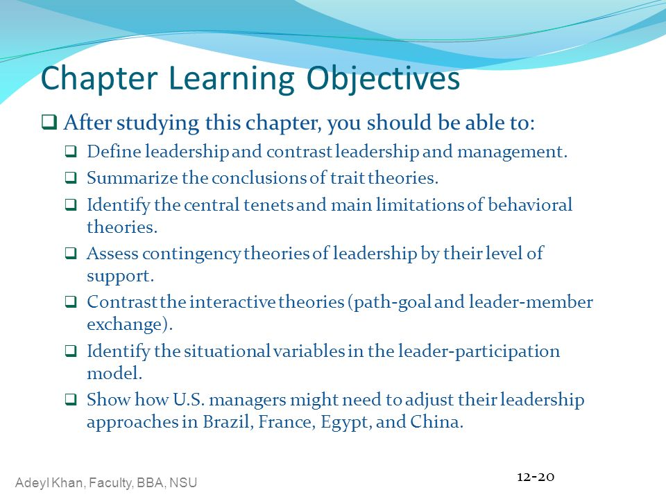 the leader participation model identifies five leadership behaviors pertaining to decision making an Members will regard the leader's own behavior as an appropriate model (identifying performance-related and development needs in decision making.