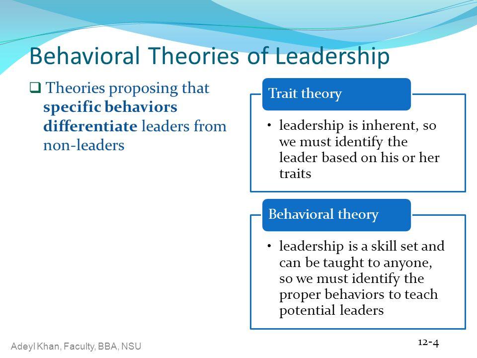 leadership behavior approach