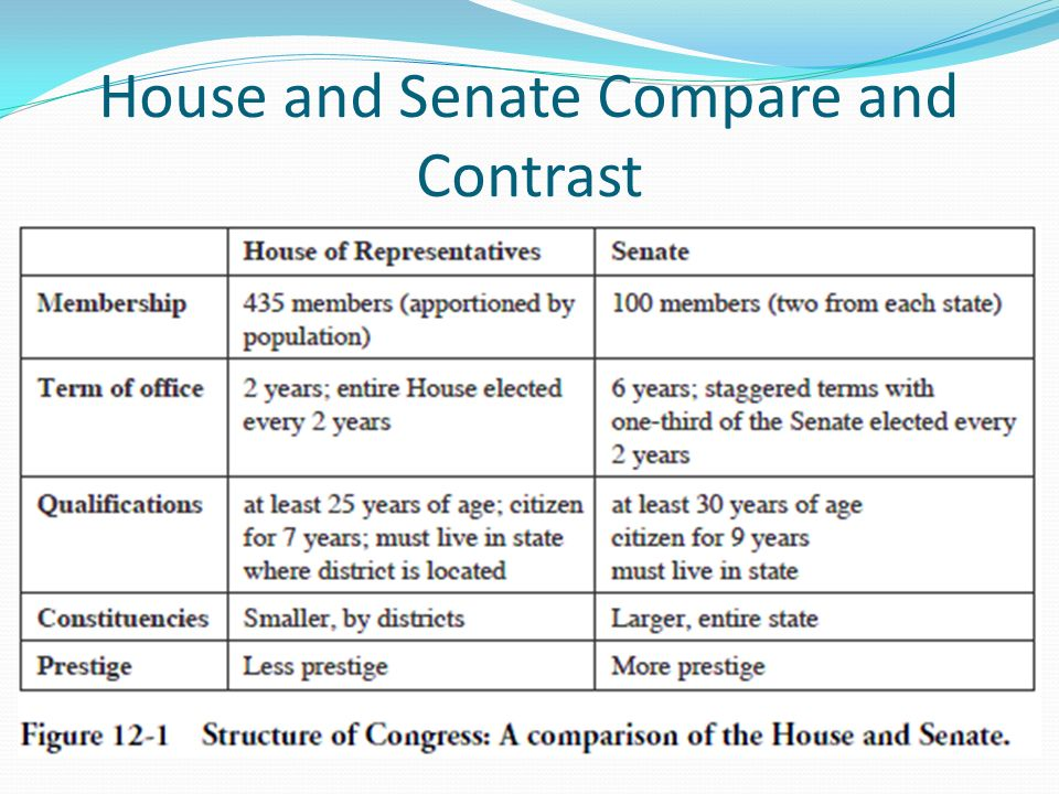 compare and contrast the age of