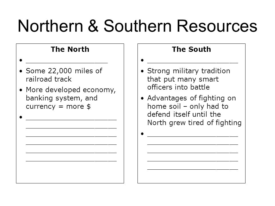 Northern & Southern Resources