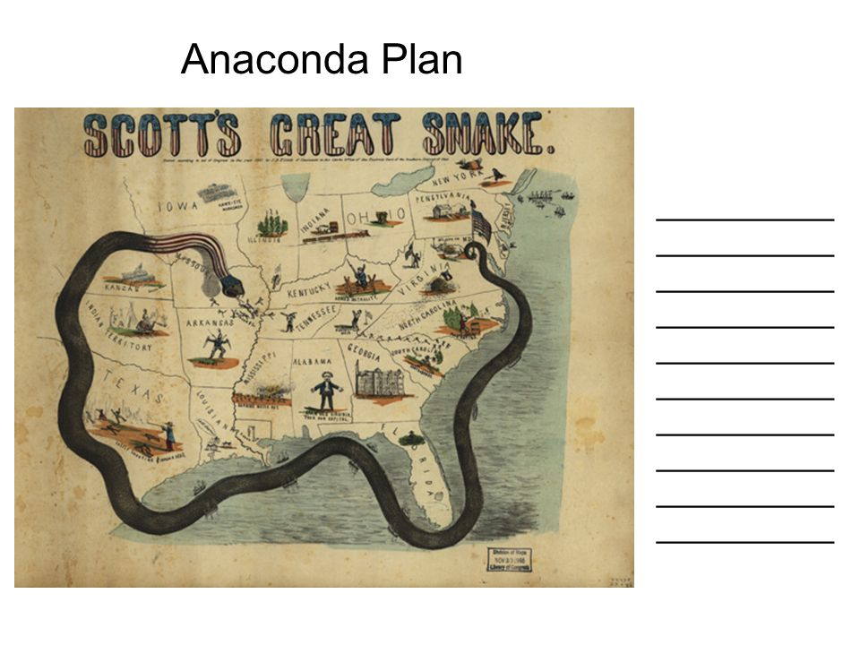 Anaconda Plan ______________________________________________________________________________________________________________.