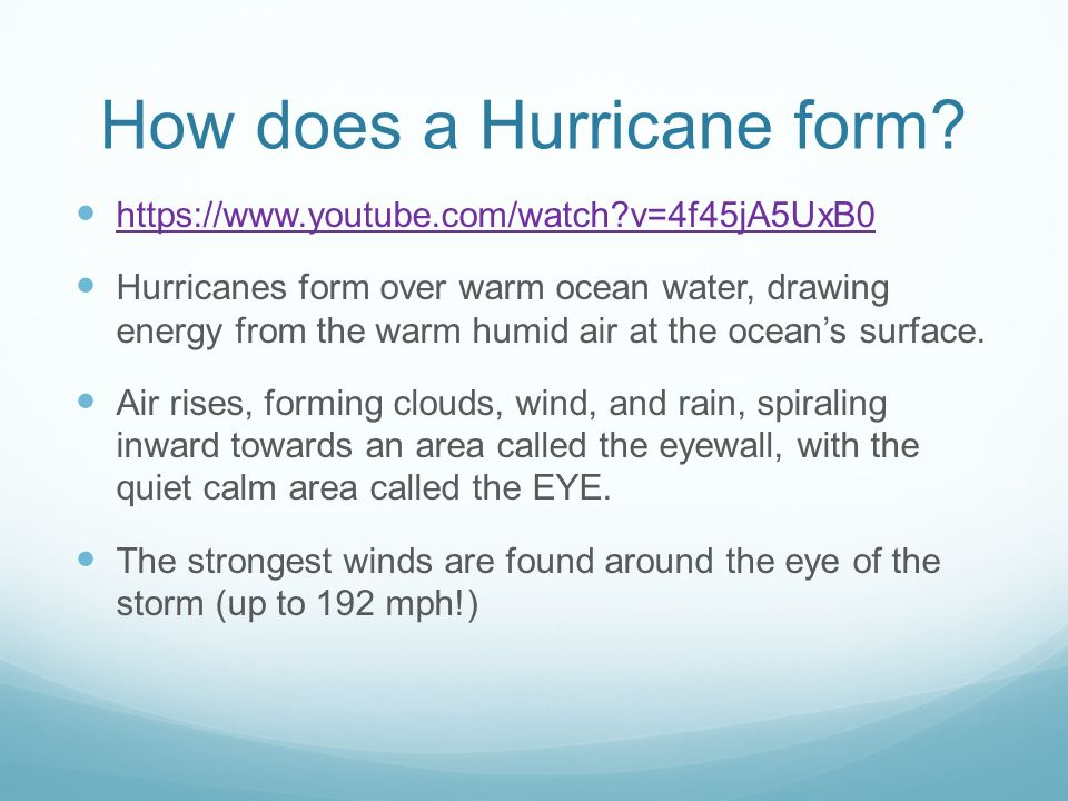 Hurricanes. - ppt download