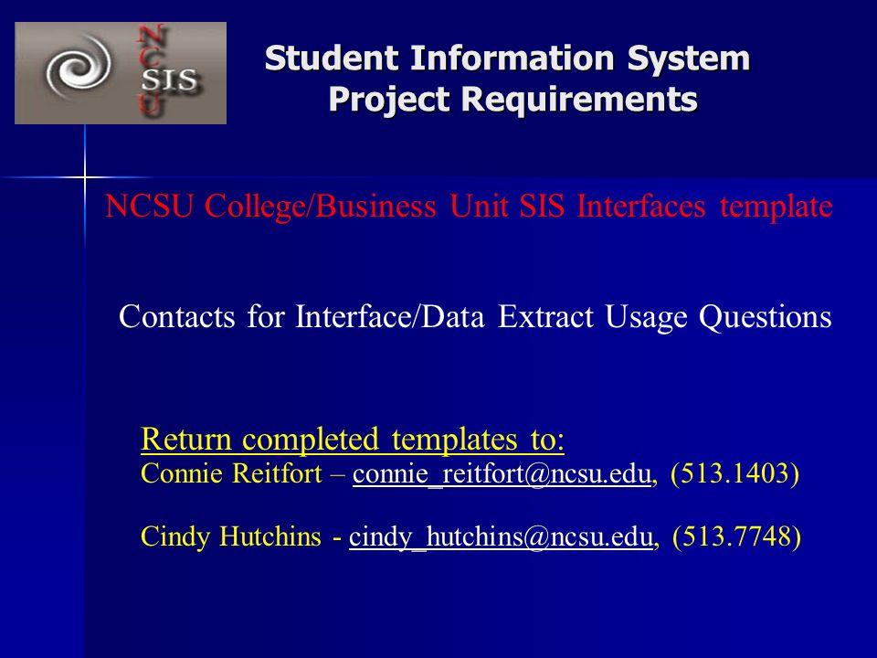 ncsu student information system (sis) - ppt video online download, Presentation templates
