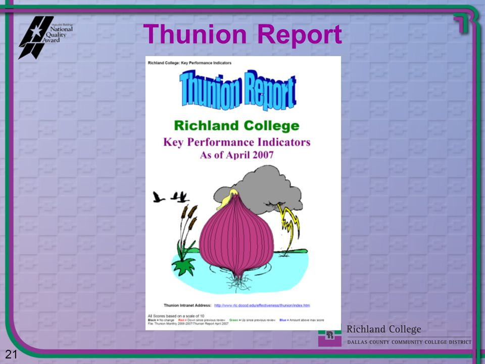 Thunion Report
