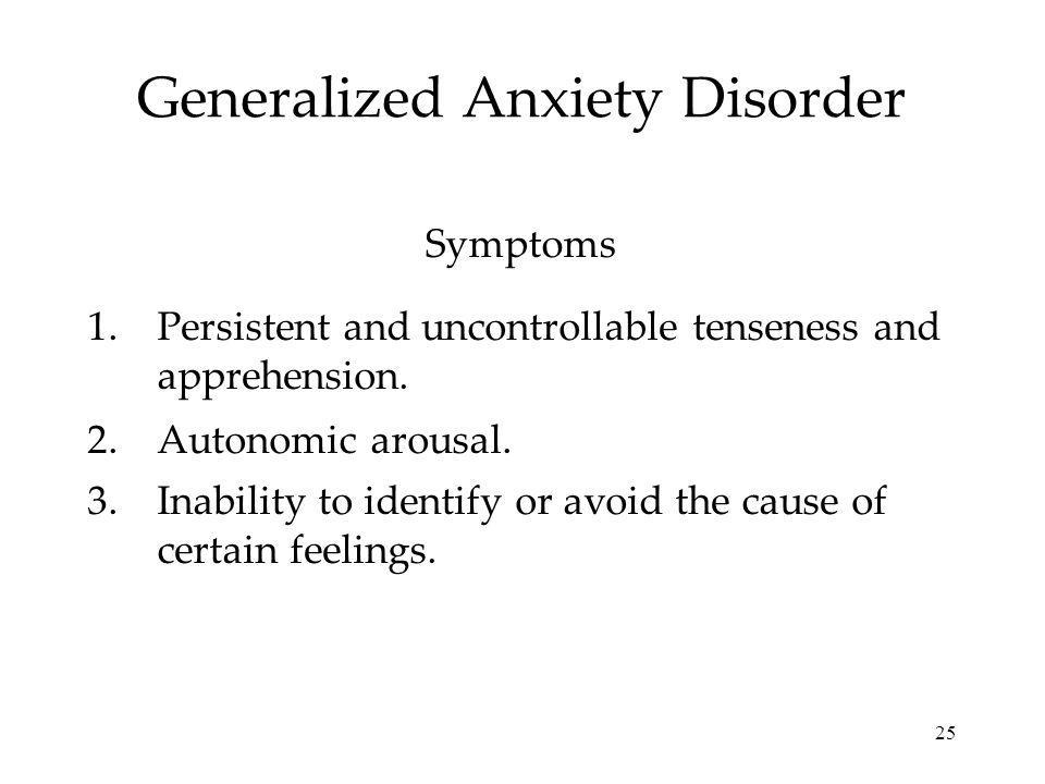 Generalized Anxiety Disorder