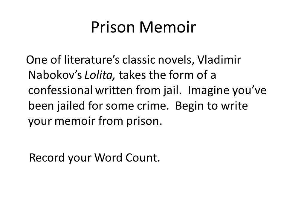 Prison Memoir