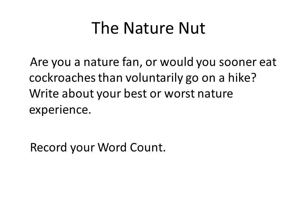 The Nature Nut
