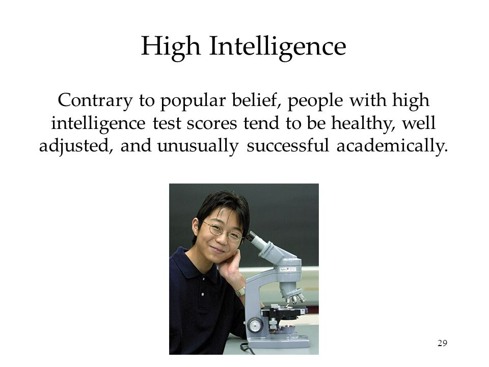 High Intelligence