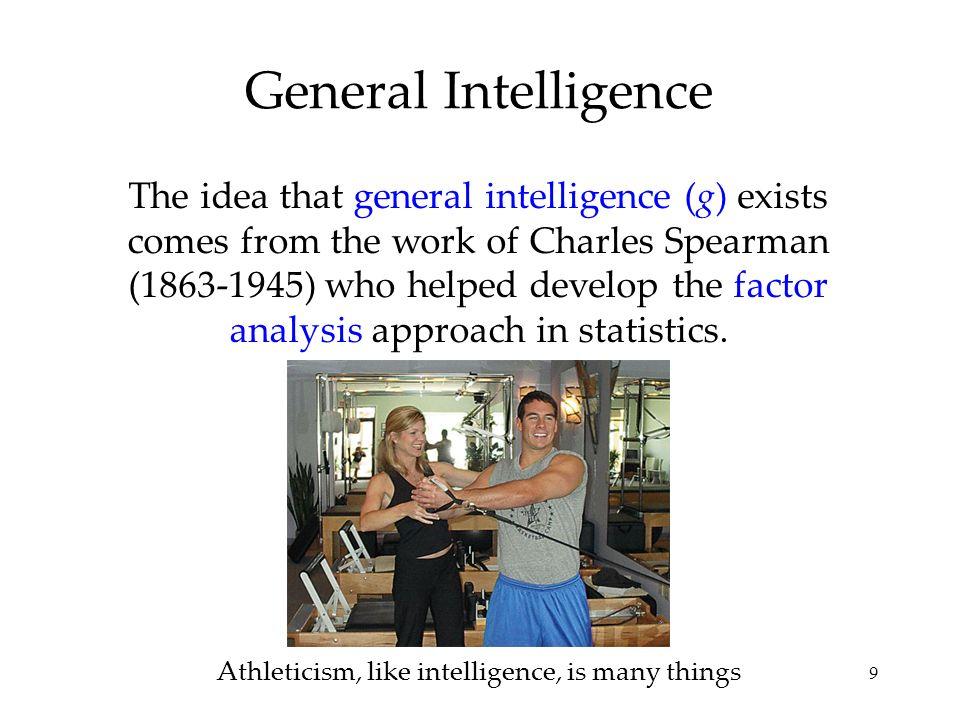 Athleticism, like intelligence, is many things