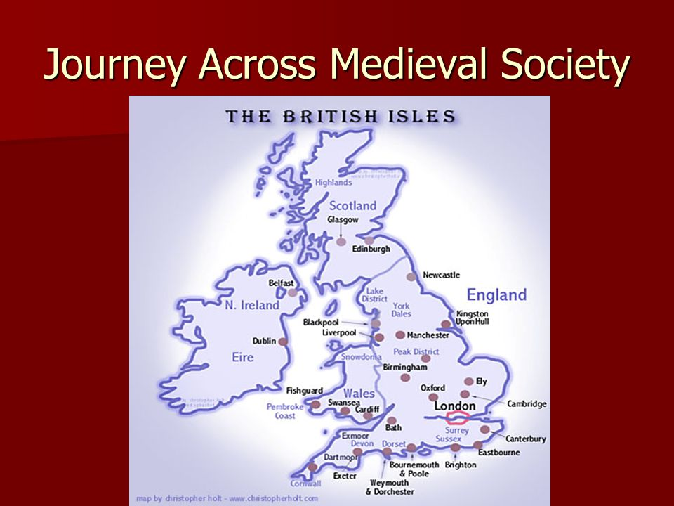 Journey Across Medieval Society