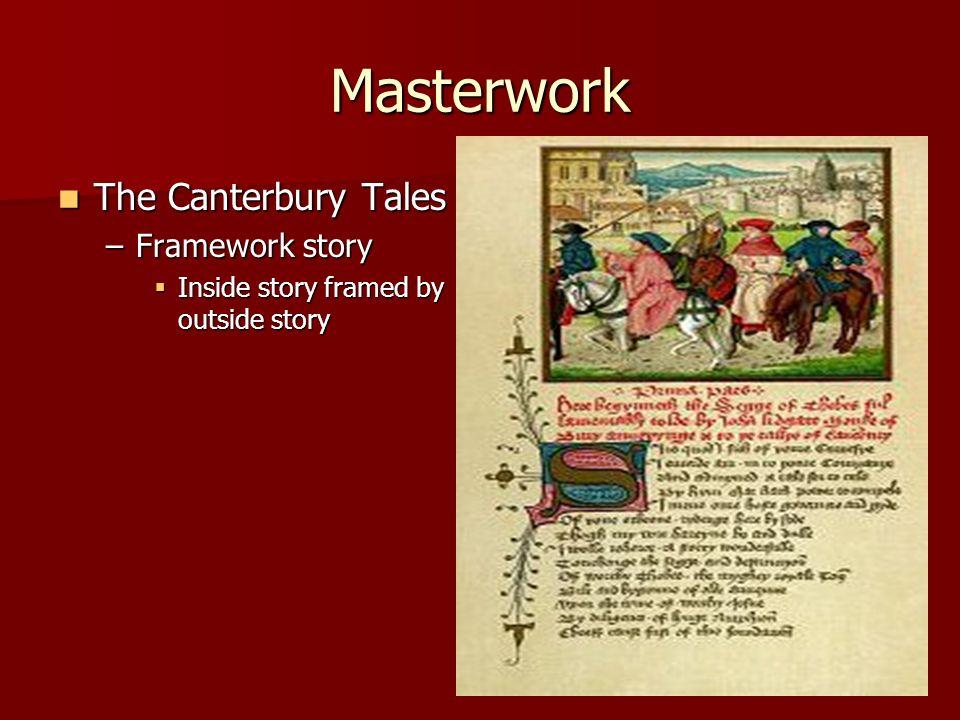 Masterwork The Canterbury Tales Framework story