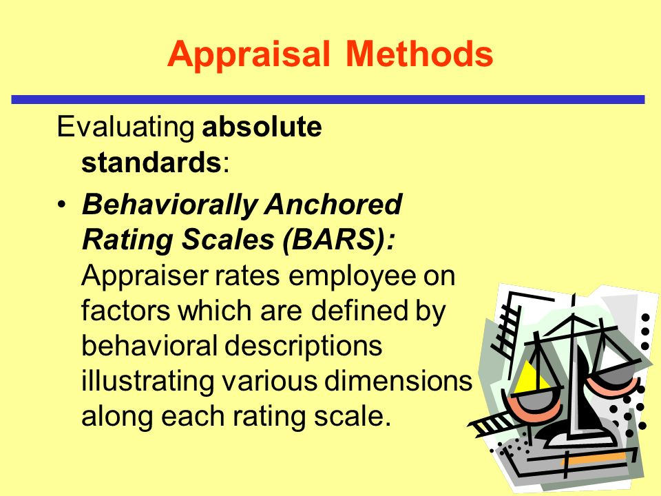 absolute appraisal method A critical incident appraisal b checklist appraisal c paired comparison d from hr 211 at harran university - yenişehir campus.