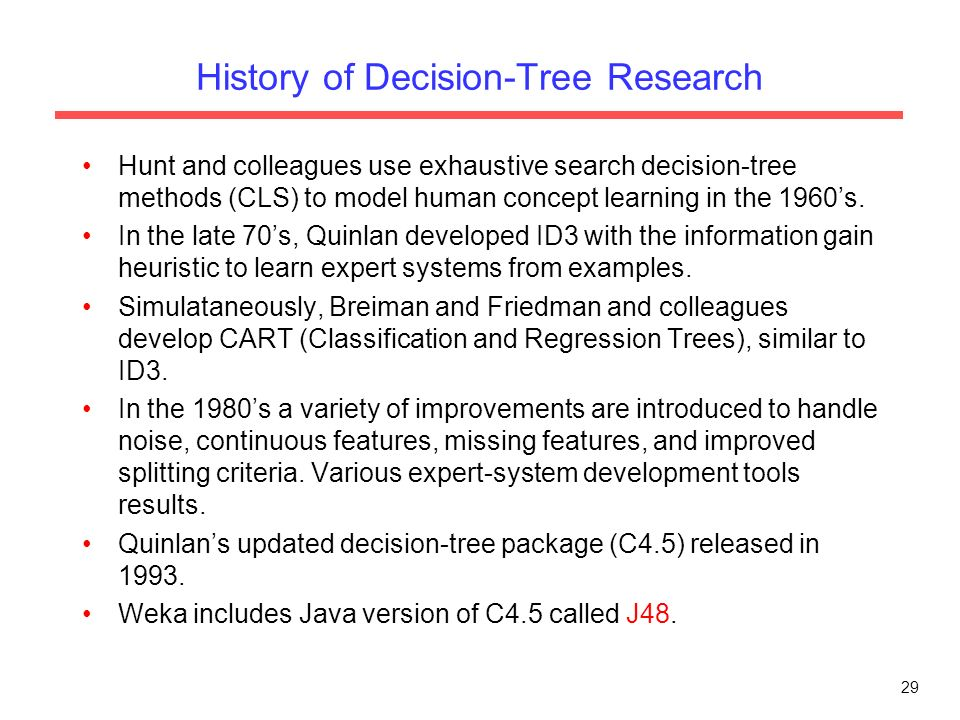 Information gain in decision trees