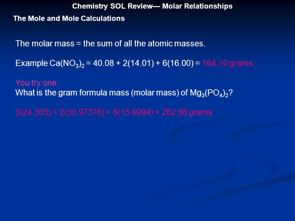 What is dating chemistry