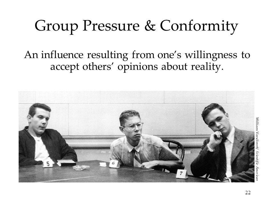 Group Pressure & Conformity
