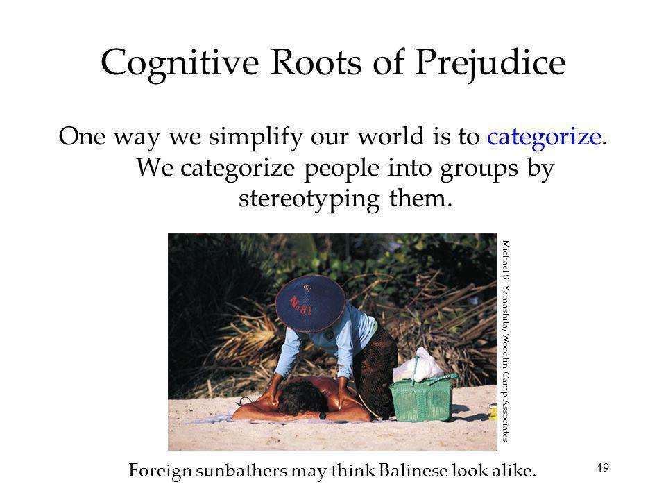 Cognitive Roots of Prejudice