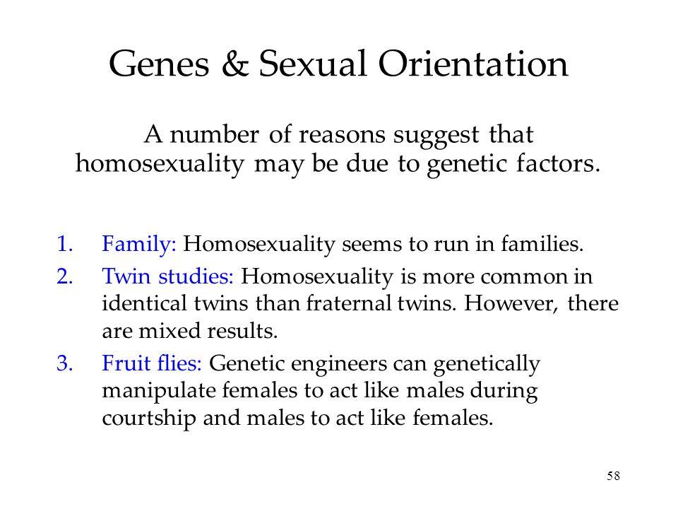 Genes & Sexual Orientation