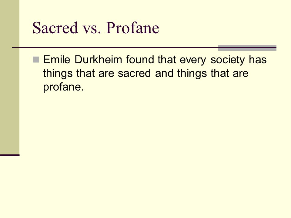 durkheims definition of religion sacred Religion revision - download as word  a single universal definition  durkheim and his theory of religion and social solidarity sacred items funeral rituals.