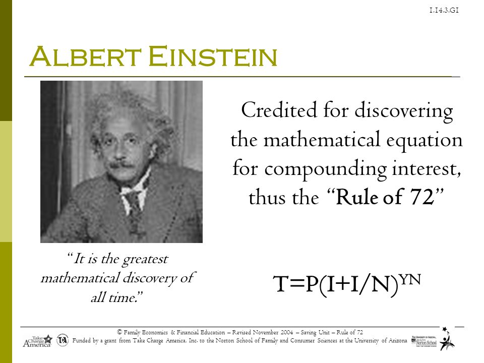 It is the greatest mathematical discovery of all time.