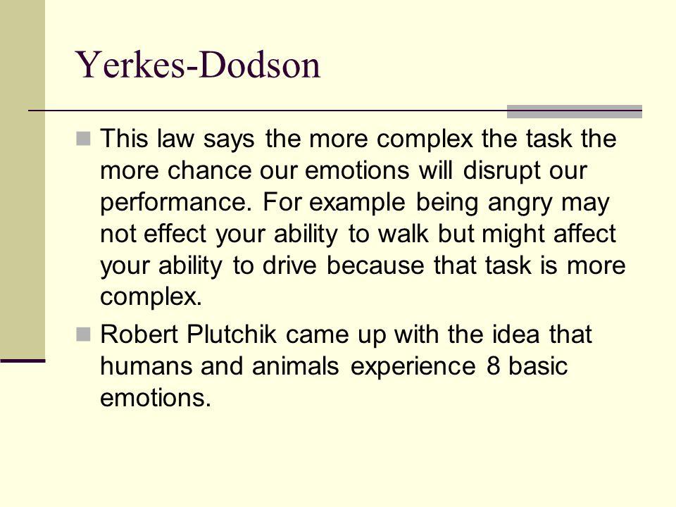 Yerkes-Dodson