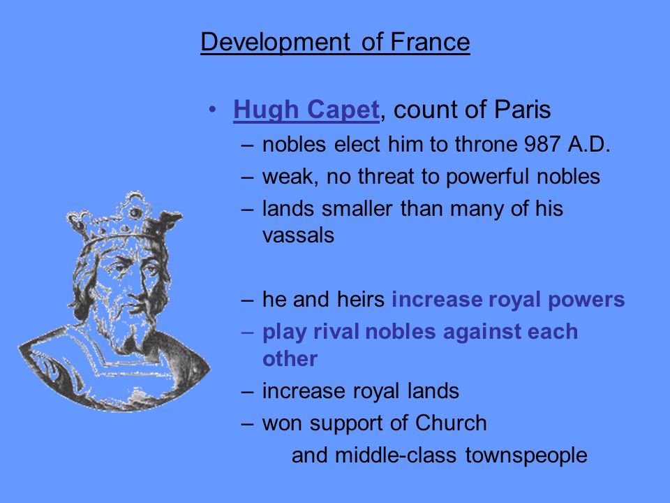 Hugh Capet, count of Paris