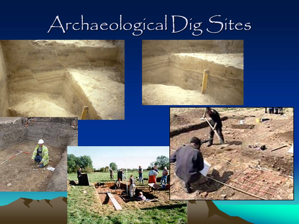 Archaeological Dig Sites