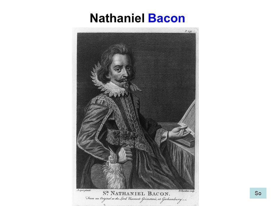 Nathaniel Bacon So