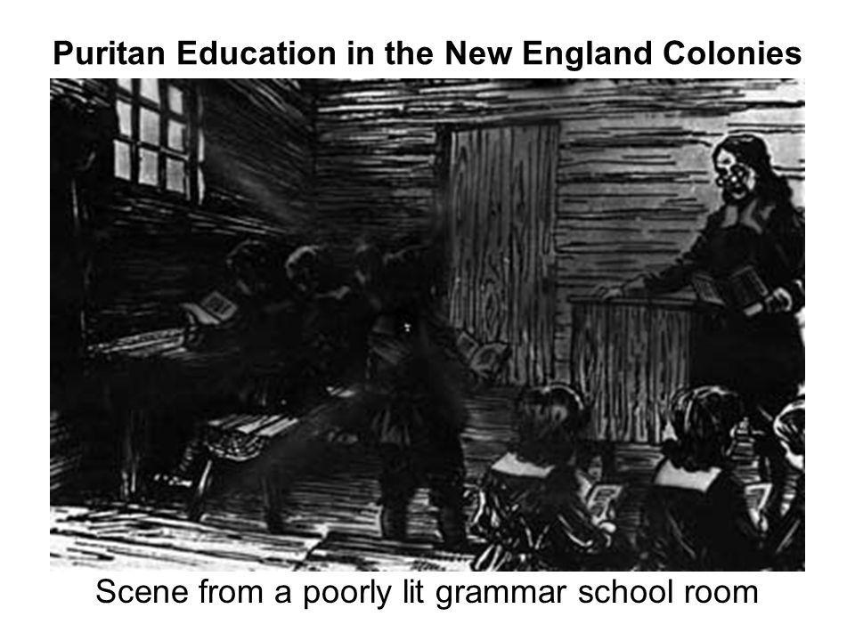 Puritan Education in the New England Colonies