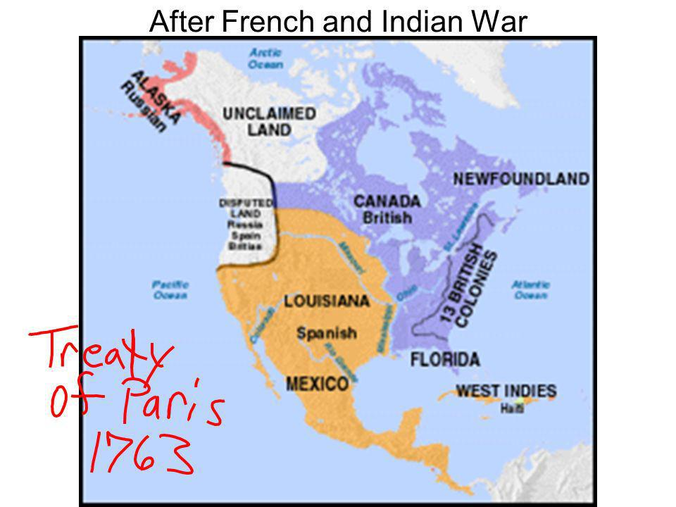 After French and Indian War