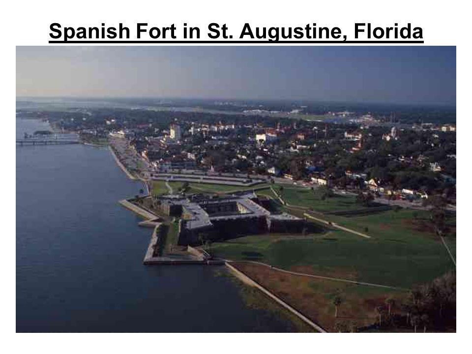 Spanish Fort in St. Augustine, Florida