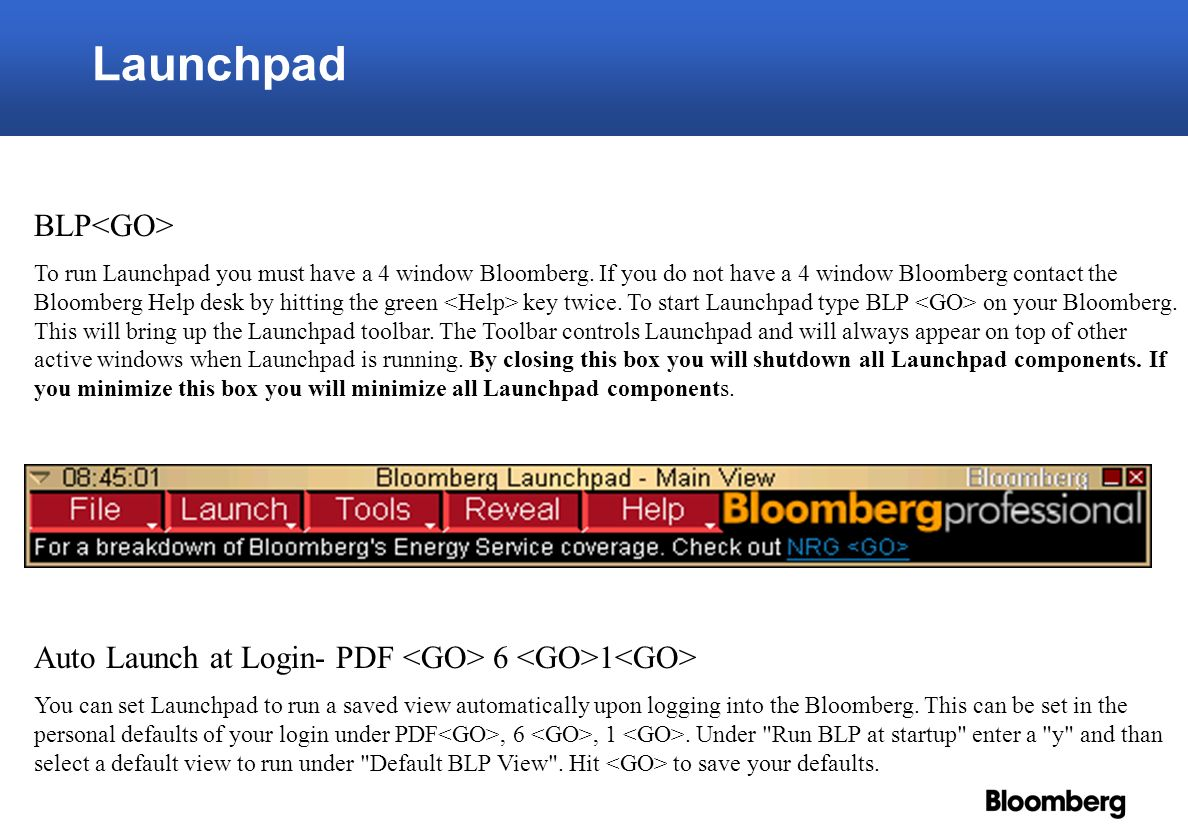 2 Launchpad