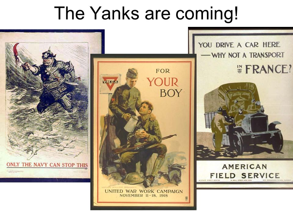 The Yanks are coming!