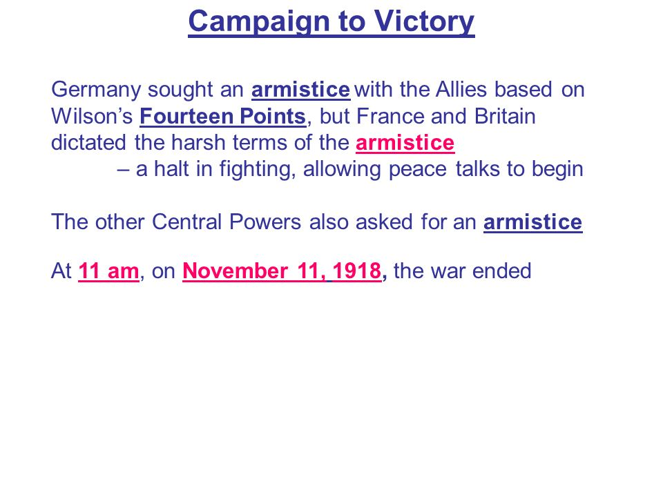 Campaign to Victory 4.