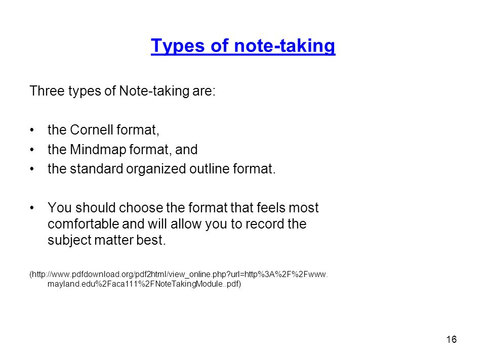 outline format note taking - Dolap.magnetband.co
