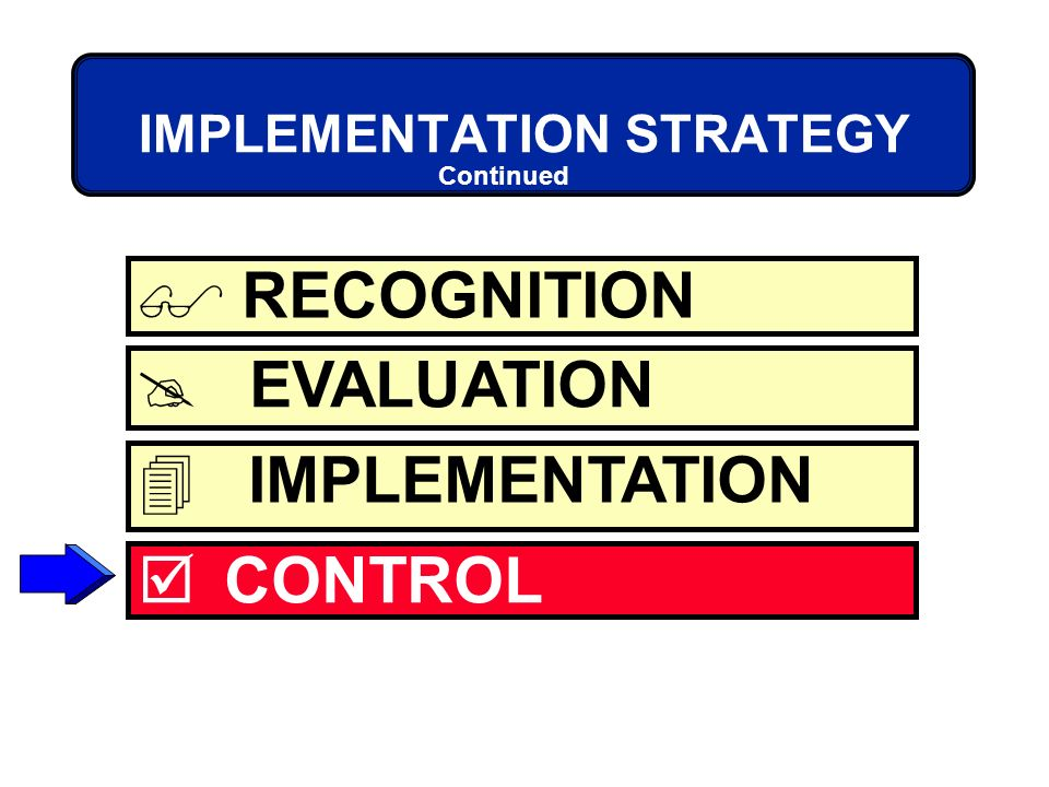 pepsi strategy implementation and evaluation and control Post implementation evaluation figure 21-1 strategy evaluation and control in  strategic formulation framework pepsi co, selected a relatively.