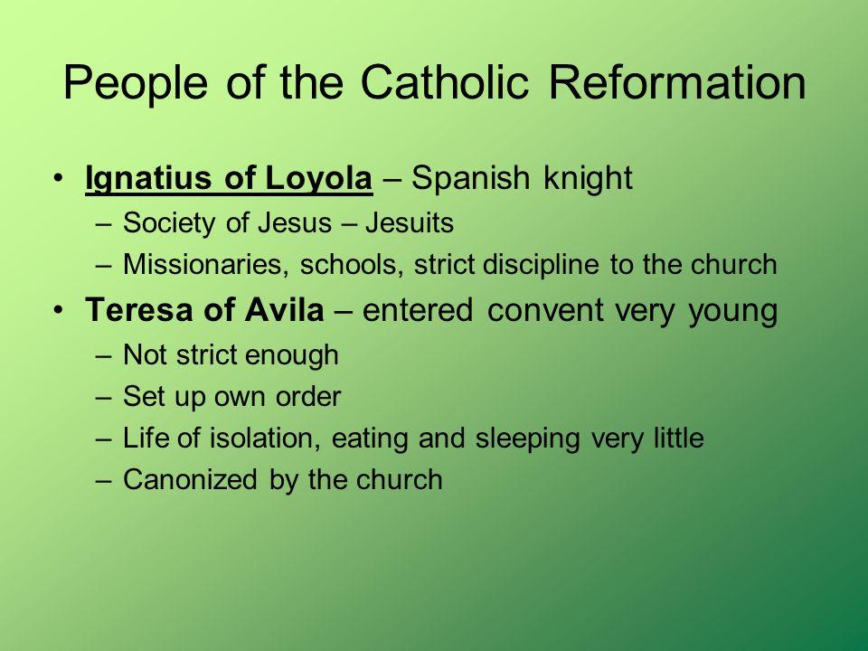 People of the Catholic Reformation