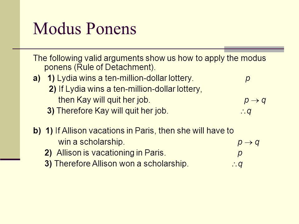 Write An Argument In Modus Ponens Form Essay Service Qdhomeworkxzxv