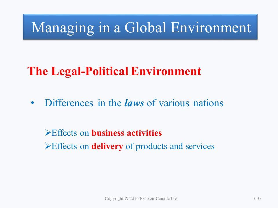 political legal forces