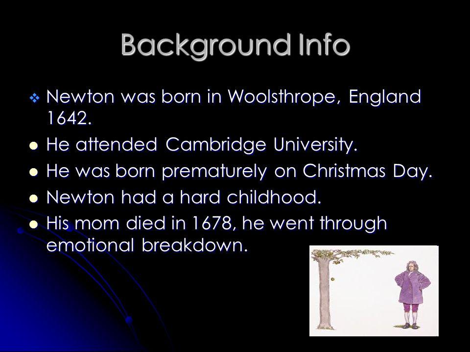 Celebrity born christmas 1642