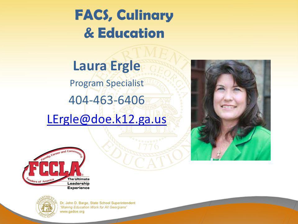 FACS, Culinary & Education
