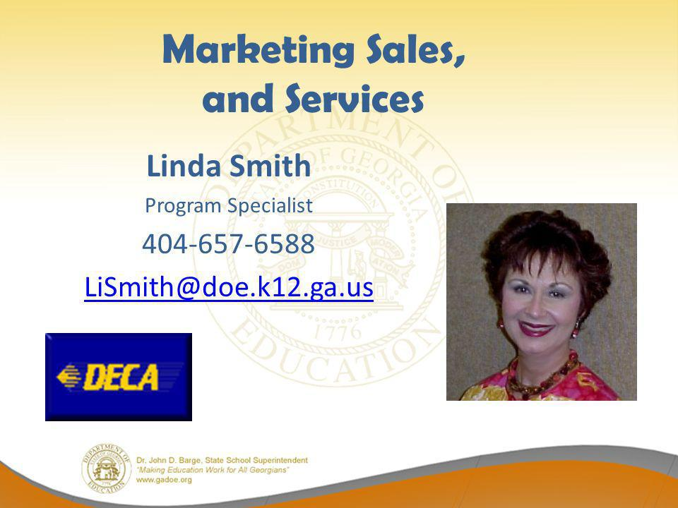 Marketing Sales, and Services